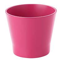 "ИКЕА ""ПАПАЙА"" Кашпо, темно-розовый"