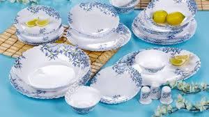 Сервиз ARCOPAL ALIYA BLUE 19 предметов + 6 стаканов (L5296)