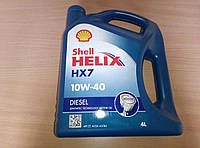 Моторное масло Shell Helix HX7 DIESEL , 10w40