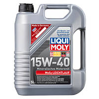 Минеральное моторное масло - MoS2 Leichtlauf SAE 15W-40 5 л.