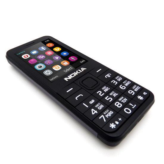 Телефон Nokia 230 (Экран 2,2 дюйма) Чёрный  Хит!
