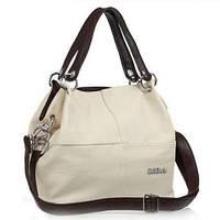 WeidiPolo Стильная женская сумка бежевая