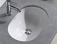 Вбудовуваний умивальник 56 см Німеччина Duravit D-Code 0338560002, фото 1