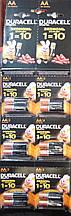Батарейки Duracell AA original LR6 MH1500 1.5v пальчиковая 12шт