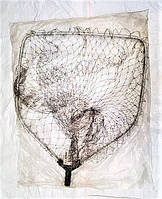Голова на подсак  Siweida 60*70 см, сетка из лески, крупная ячейка