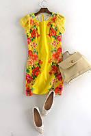 Очень яркое летнее платье