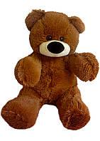 Плюшевый мишка Алина Бублик 55 см коричневый, фото 1