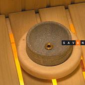 Электрическая печь (каменка) для сауны и бани Harvia Hidden Heater HH12, фото 2