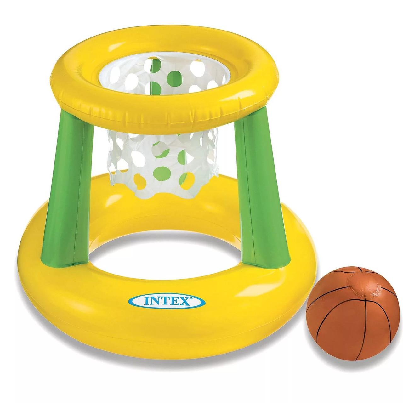 Надувное водное баскетбольное кольцо 67*55см 58504