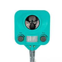 Отпугиватель животных и насекомых Greenmill GRS108 на батарейках, регулировка диапазона частот