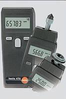 Testo 470 Бесконтактное и механическое измерение скорости вращения и длины (универсальный тахометр)