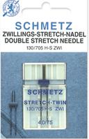 Иглы швейные Schmetz №75/2,5 стрейч двойные