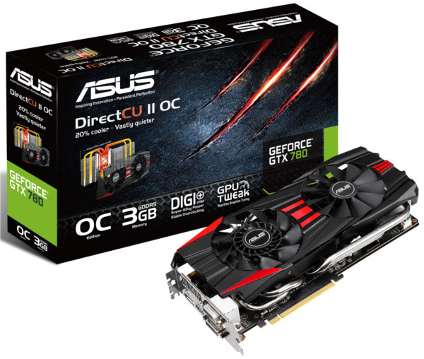 "Видеокарта ASUS GTX780 3GB GDDR5 384bit ""Over-Stock"" Б/У"