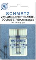 Иглы Schmetz №75/4 стрейч двойные