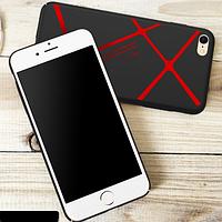 Чехол для iPhone 6s plus ультратонкий + защитная пленка в подарок
