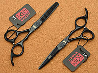 Профессиональный набор парикмахерских ножниц KASHO 5,5