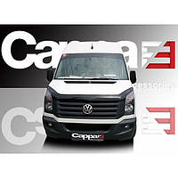 Volkswagen Crafter 2006+ и 2011+ гг. Мухобойка CappaFe (2006+, 2011+)