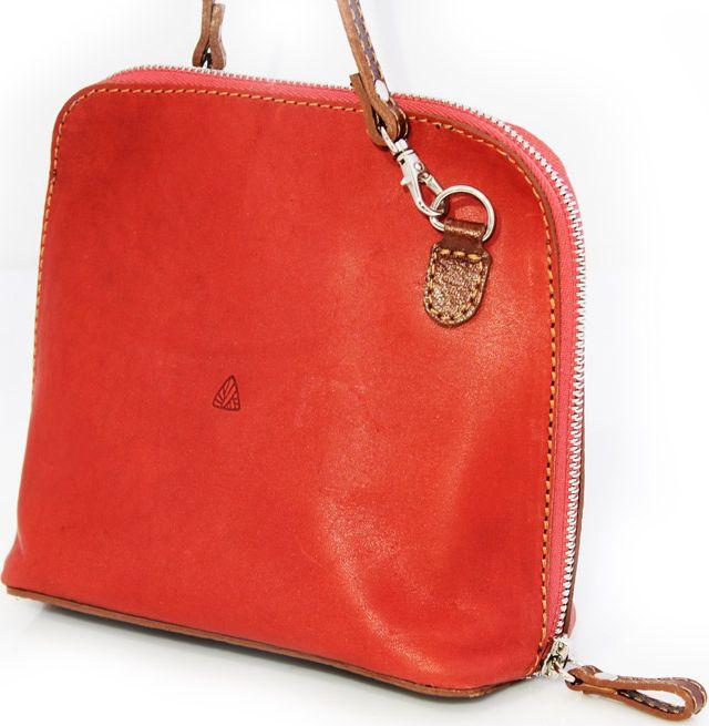 Жіноча шкіряна сумочка Mykhail Ikhtyar 4181 червоний