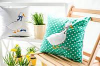 Подушка декоративная Гусь