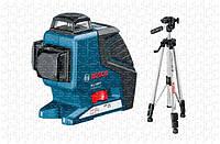 Линейный лазерный нивелир Bosch GLL 3-80 P + ШТАТИВ BS 150