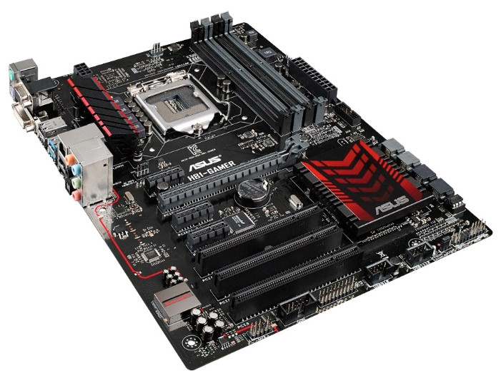 "Материнская плата ASUS H81-GAMER s.1150 DDR3 ""Over-Stock"""