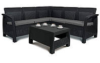 Угловой диван + стол  Corfu RELAX