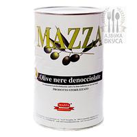 Маслины в маринаде Olive nere Mazza (Мацца) 4kg/2kg