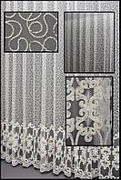 Купить очень красивую гардину с вышивкой в интернет магазине