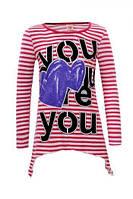 Детская кофта для девочки Glo-Story:GCX-3021 розовый,р.134,140,146