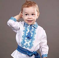 """Красивая рубашка-вышиванка для мальчика на рост 86-110см, """"Незалежність"""""""