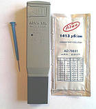 Влагозащищённый кондуктометр ( EC-метр ) Adwa AD203 (0 - 1999 µs/cm) с АТС (Венгрия), фото 2