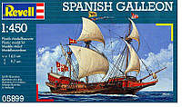 Испанский галеон (1556г., Испания) Spanish Galeon, 1:450, Revell