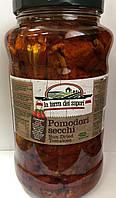 Вяленые томаты в масле Pomodori secchi La Terra dei Sapori  (Сапори) 2900/1700g