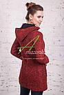 Стильное женское пальто с капюшоном от производителя модель весна 2018 - (рр-51), фото 3