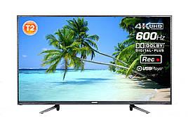 "Телевизор 55"" T2 4K UHD 3840×2160 USB HDMI Romsat 55UMT16512T2"