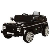 Детский электромобиль Джип Bambi Land Rover Discovery M 3174 EBR-2, колеса EVA,MP3,USB,черный