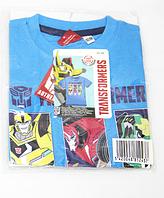 Футболка детская Трансформеры на мальчика/Transformers/100% коттон/размер:92-98см(2-3 года)/116-122см(5-6лет)