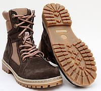 Берцы женские (Берці, Берци) Ботинки тактические высокие Brown