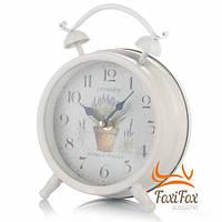 Настольные часы в виде будильника Прованс
