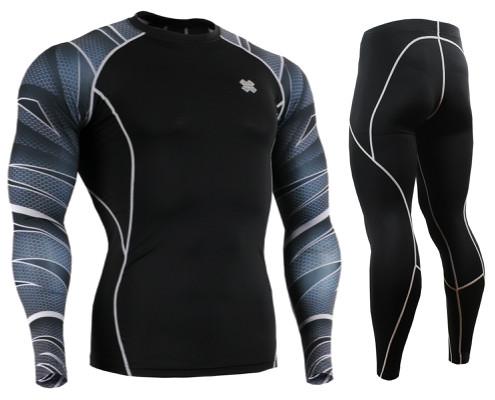 Комплект Рашгард Fixgear и компрессионные штаны CPD-B63+P2L-BS