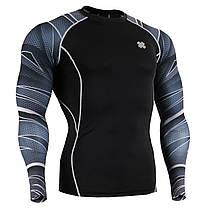 Комплект Рашгард Fixgear и компрессионные штаны CPD-B63+P2L-BS, фото 2