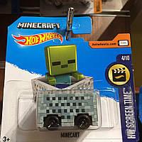 Hot Wheels базова модель Minecart