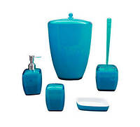 Набор аксессуаров для ванной комнаты - 5 предмета