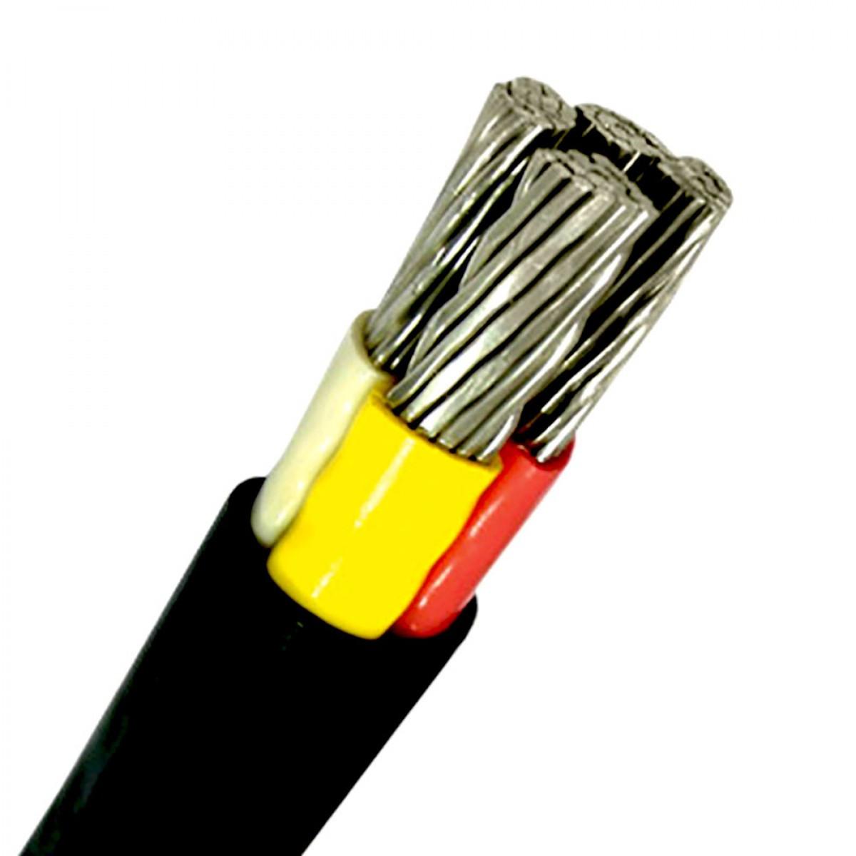 АВВГнг-LS 1х240 - кабель силовой алюминиевый с изоляцией пониженной горючести