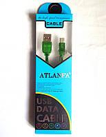 Кабель USB-micro USB, ароматный, плоский, в упаковке, 1м