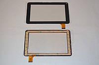 Оригинальный тачскрин / сенсор (сенсорное стекло) для Bravis NP747 SD (черный цвет, самоклейка)