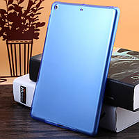 Синий силиконовый чехол для iPad Air