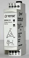 Реле контроля фаз устройство защиты 3-х фазного электродвигателя DIN цена купить TENSE
