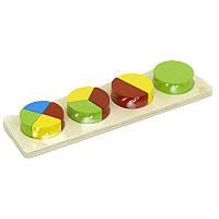 Деревянная игра Геометрика 0366  в кульке_x000D_