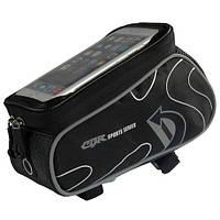Сумка на раму для телефона CBR 6.0 дюймов - черная
